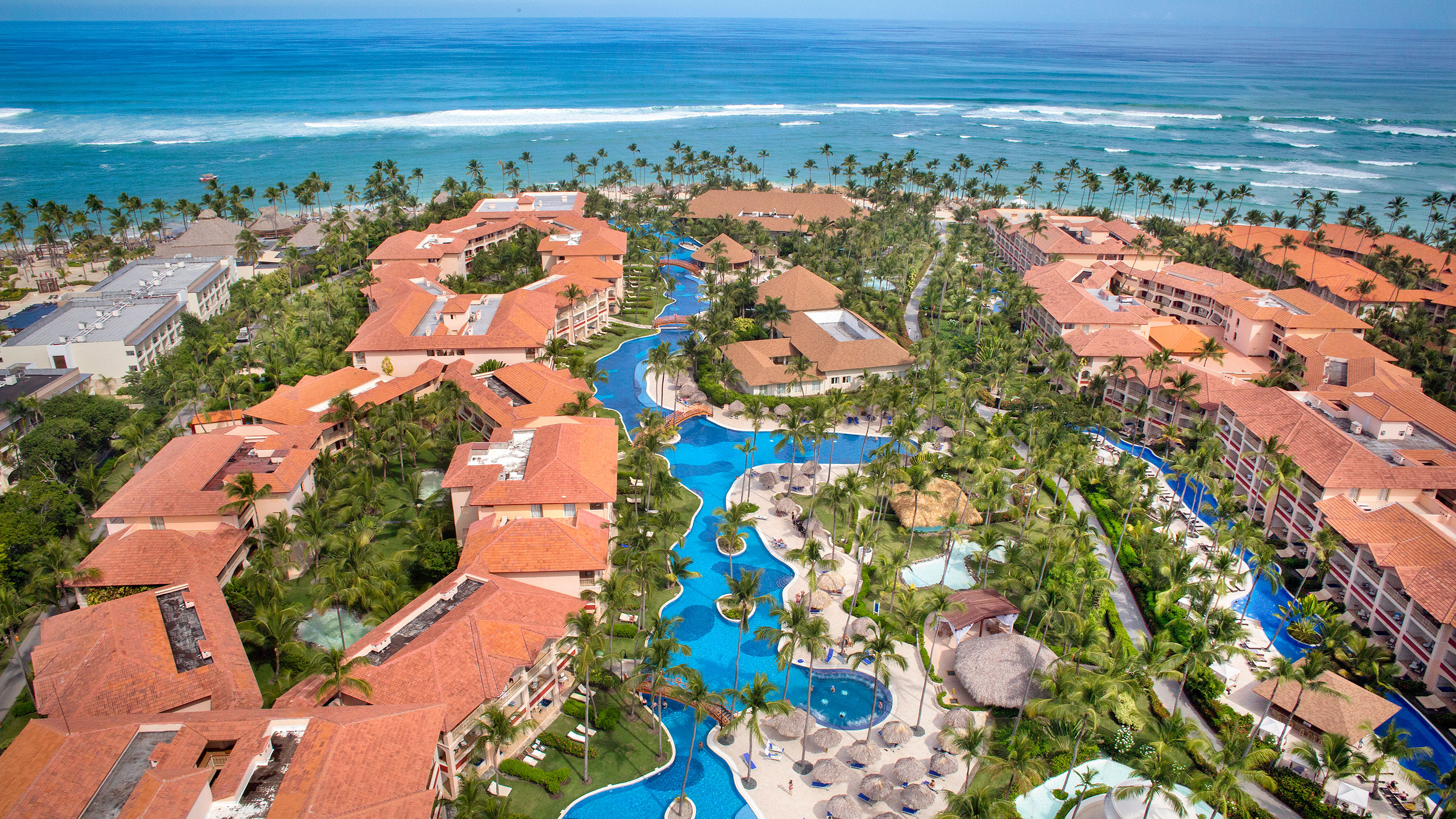 Majestic Colonial Punta Cana  - Aerial View Resort