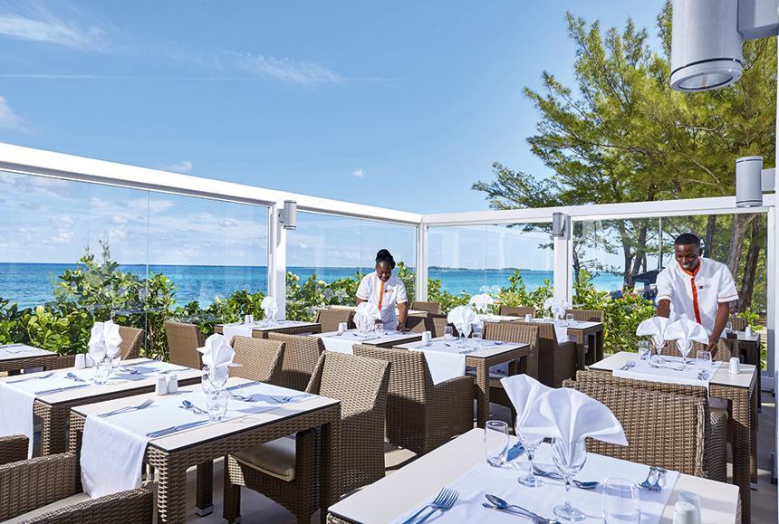 Riu Palace Paradise Island-Riu Palace Paradise Island - Main Restaurant Terrace