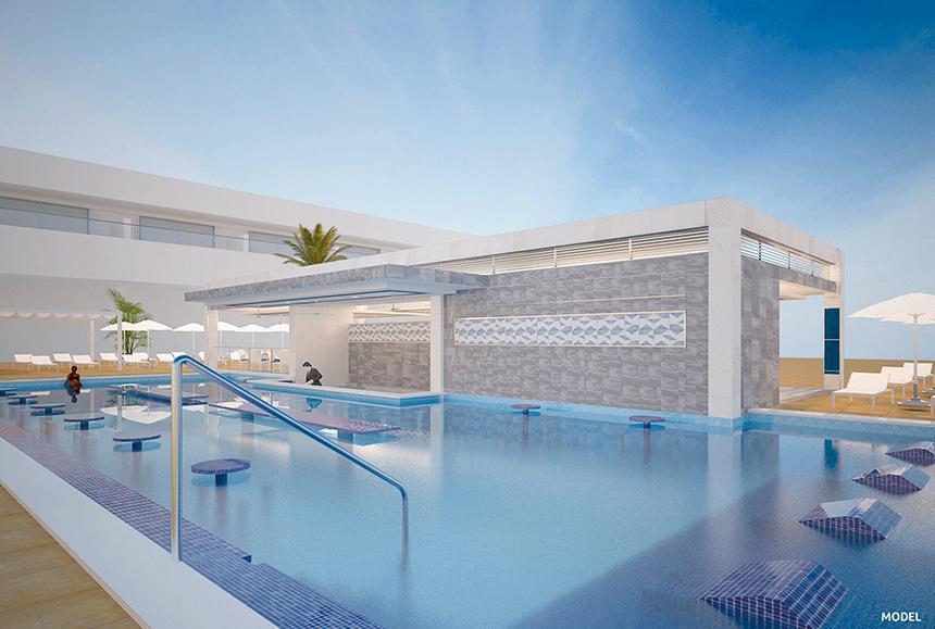 Riu Palace Riviera Maya - Riu Palace Riviera Maya - Model Swim-up bar