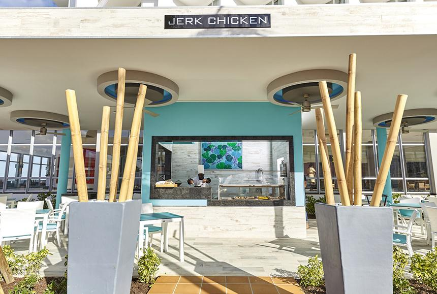 Riu Palace Paradise Island-Riu Palace Paradise Island - Jerk Station, Barbecue