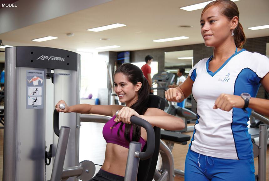 Riu Palace Riviera Maya - Riu Palace Riviera Maya - Model Gym