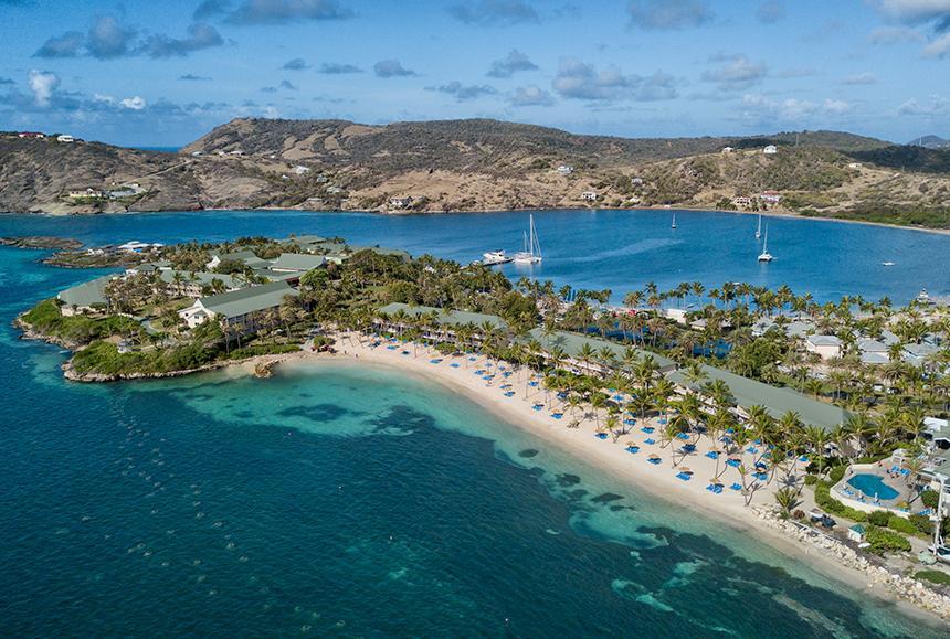 St James Club & Villas - St James Club & Villas - Aerial - Coco Beach