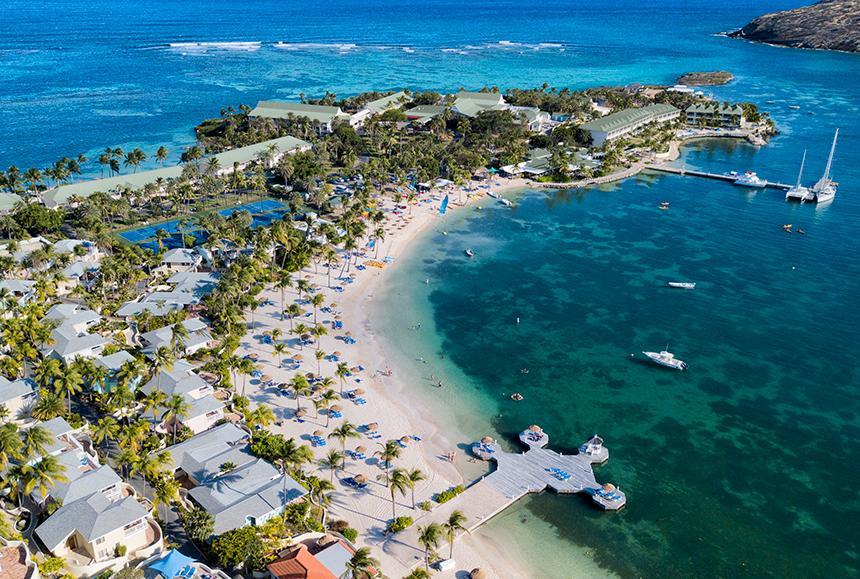 St James Club & Villas - St James Club & Villas - Aerial - Mamora Bay