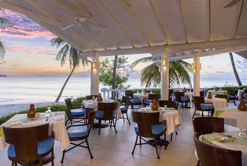 St James Club Morgan Bay -St James Club Morgan Bay  - Bambou Restaurant