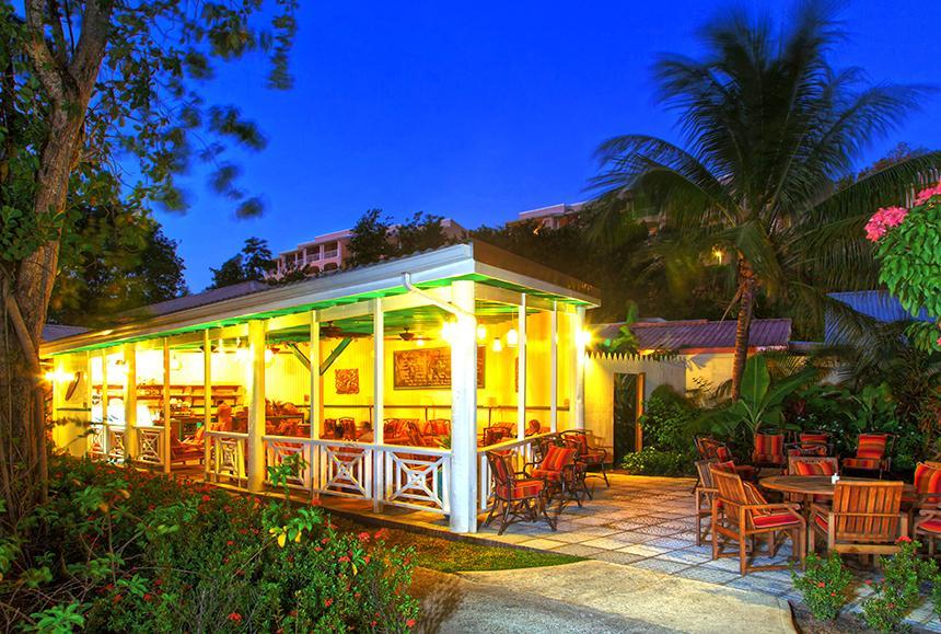 St James Club Morgan Bay -St James Club Morgan Bay  - Choc Bay Café