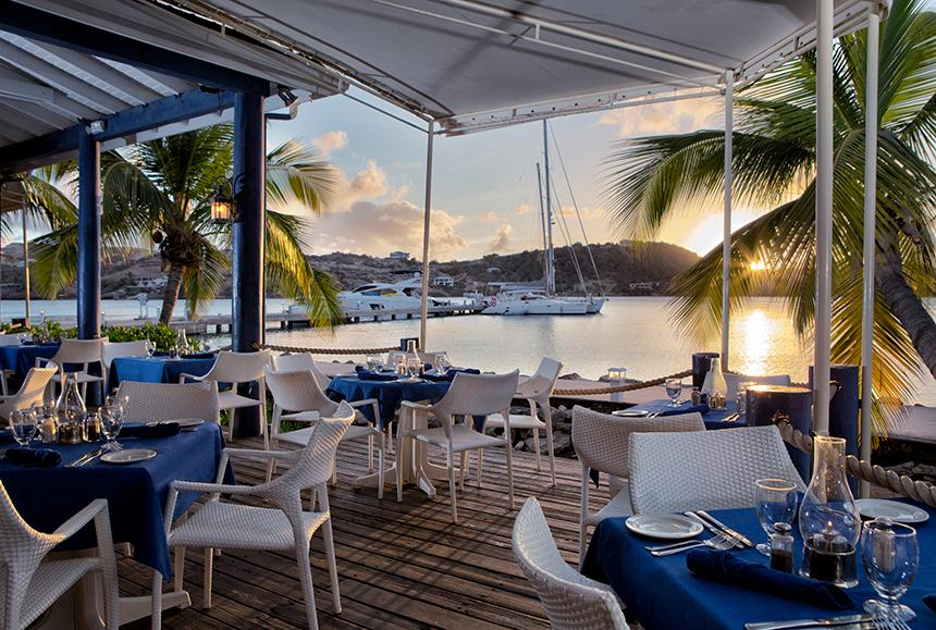 St James Club & Villas - St James Club & Villas - Docksider Restaurant