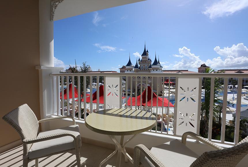 Bahia Principe Fantasia Punta Cana - Junior Suite Deluxe Castle Front view - Balcony/Terrace