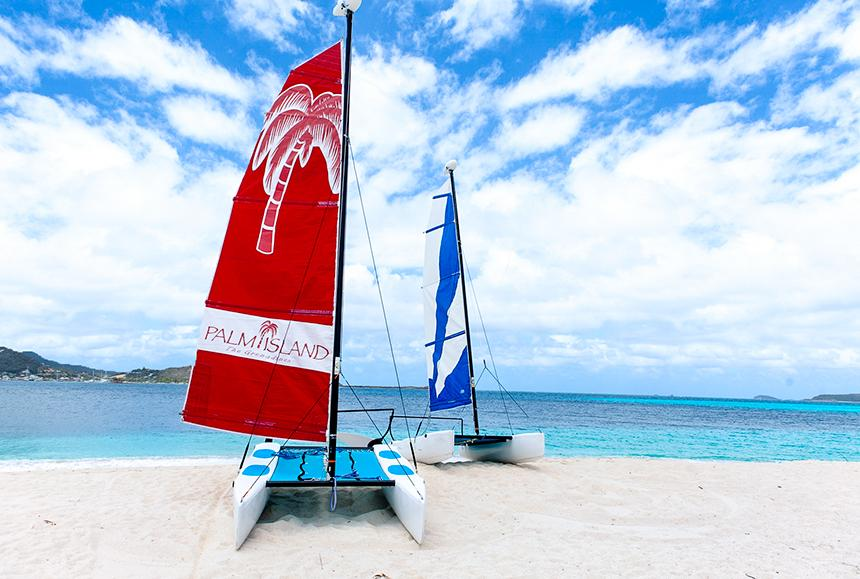 Palm Island An Elite Island-Palm Island An Elite Island - Hobie Cat Sailing