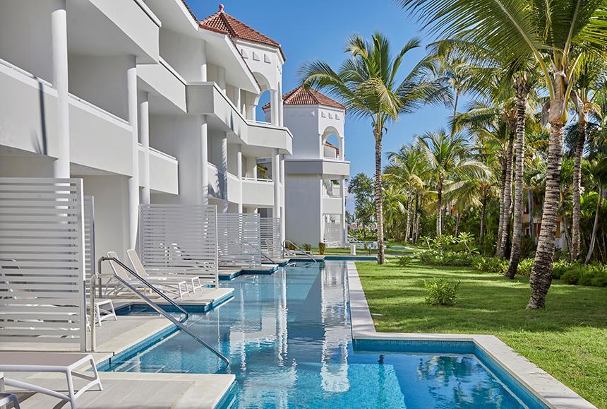 Luxury Bahia Principe Ambar - Exterior Junior Suite Deluxe Swim up