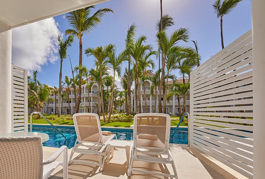 Luxury Bahia Principe Ambar - Exterior Junior Suite Deluxe Swim up room