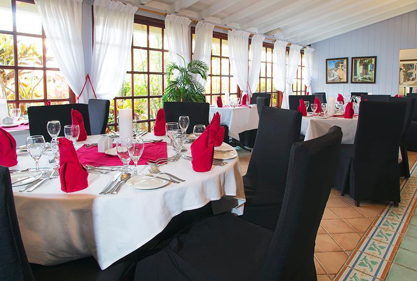 St James Club Morgan Bay -St James Club Morgan Bay  - Le Jardin Restaurant