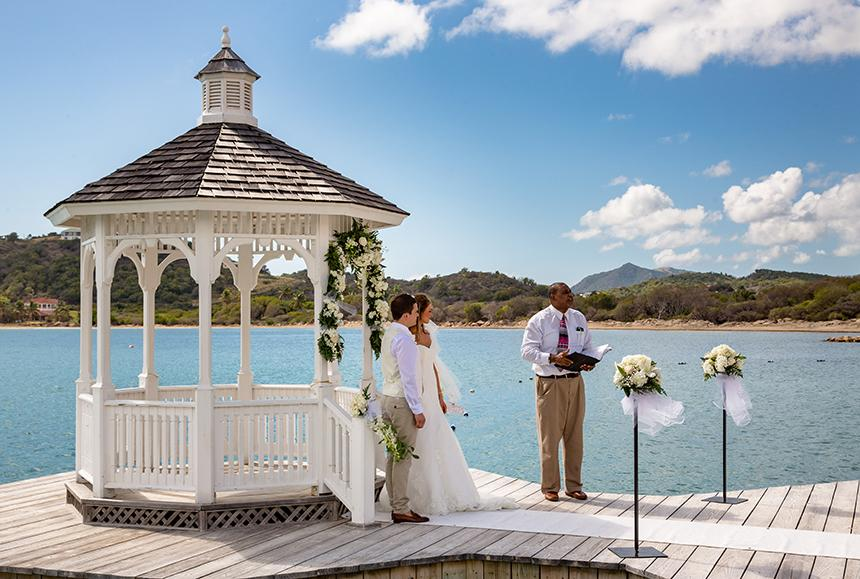 St James Club & Villas - St James Club & Villas - Mamora Bay Pier Wedding