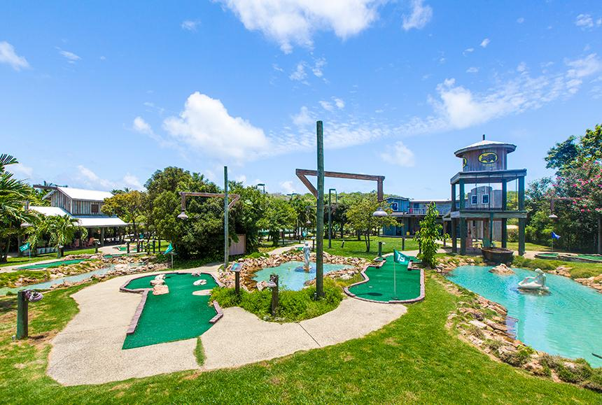Verandah Rst & Spa - The Verandah Resort & Spa - Mini Golf Course