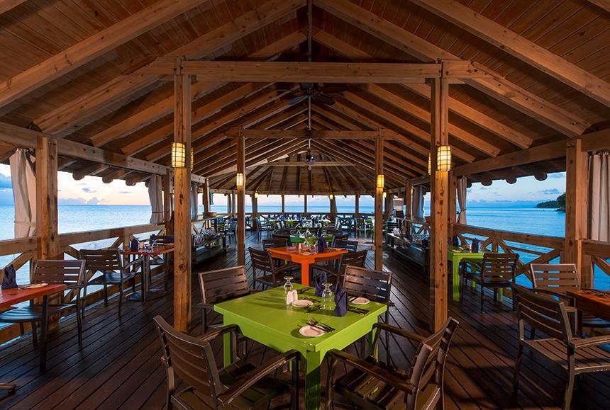 St James Club Morgan Bay -St James Club Morgan Bay  - Morgan's Pier Restaurant