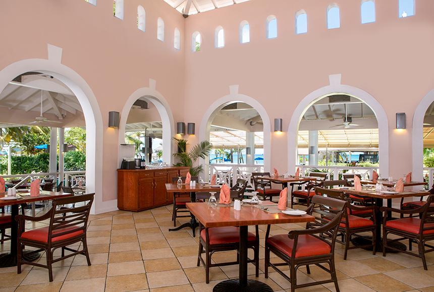 St James Club Morgan Bay -St James Club Morgan Bay  - Palms Restaurant