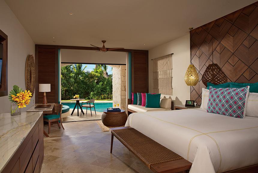 Secrets Maroma Beach Riviera Cancun - Secrets Maroma Beach Riviera Cancun - Preferred Club junior suite Swim Out