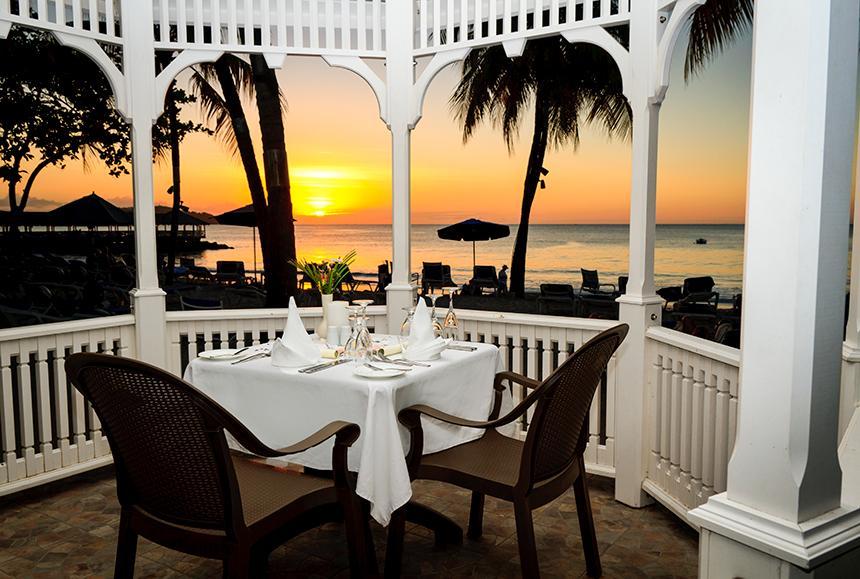 St James Club Morgan Bay -St James Club Morgan Bay  - Romantic Dining