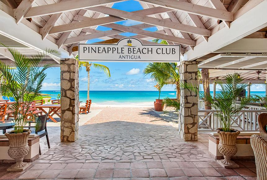 Pineapple Beach Club - Pineapple Beach Club Antigua - Signature Shot