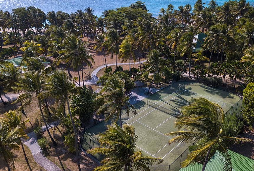 Palm Island An Elite Island-Palm Island An Elite Island - Tennis Court