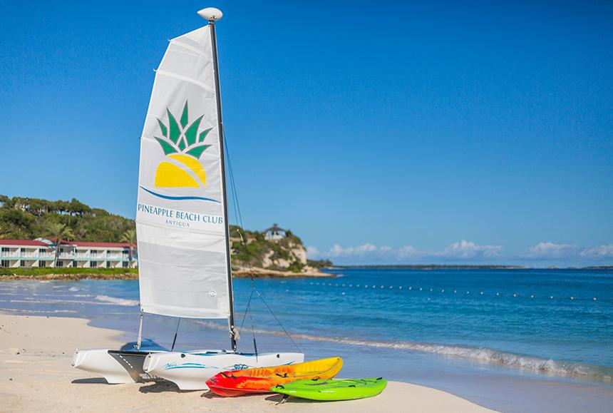 Pineapple Beach Club - Pineapple Beach Club Antigua - Watersports