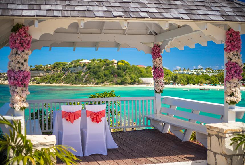 Pineapple Beach Club - Pineapple Beach Club Antigua - Wedding Gazebo