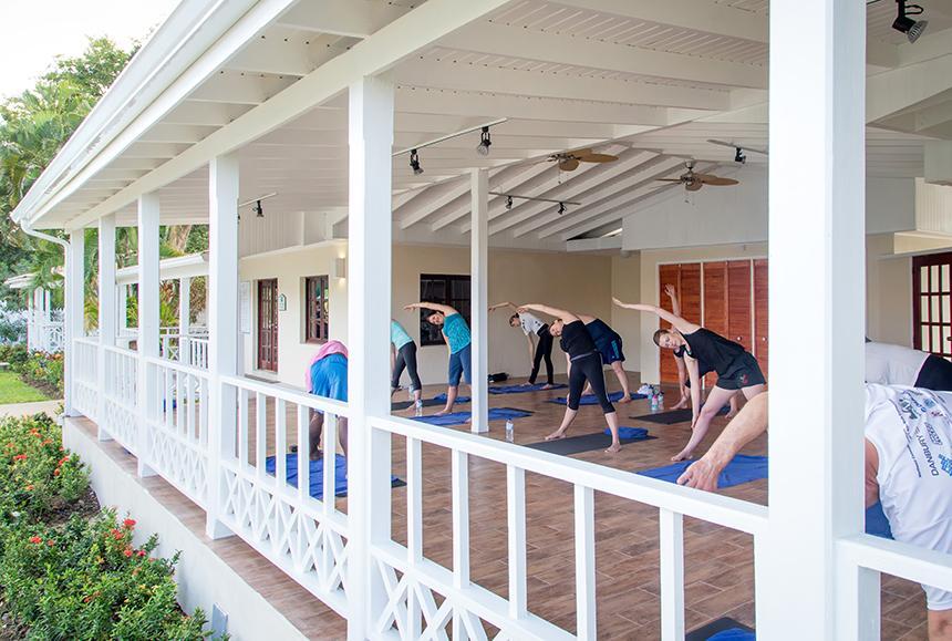 St James Club Morgan Bay -St James Club Morgan Bay  - Yoga Classes